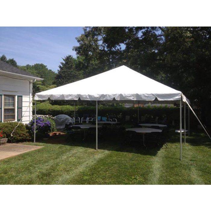 Backyard Tent Set Up
